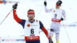 Блестящая победа Вылегжанина в скиатлоне на ЧМ