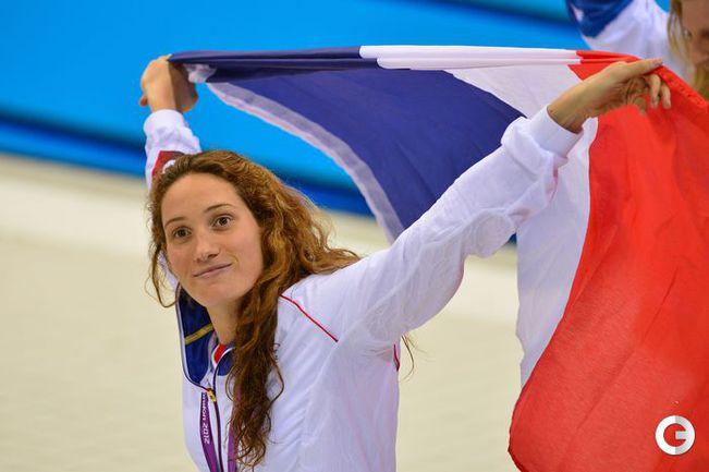 олимпийская чемпионка-2012 пловчиха Камиль Мюффа.