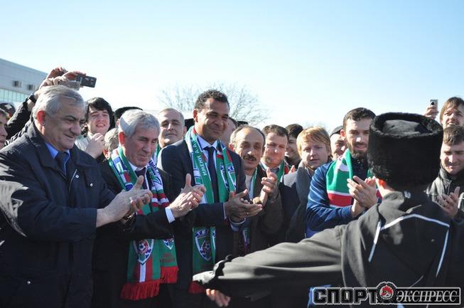 """фото - Рустам Агаев,  ФК """"ТЕРЕК""""."""