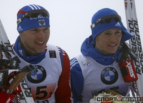 Никита Крюков(слева) и Игорь Панжинский .