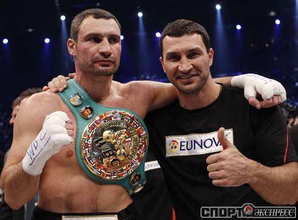 Виталий (слева) и Владимир Кличко.