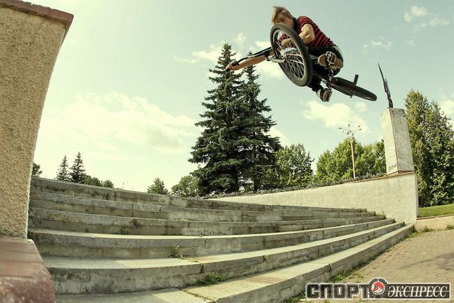 На фото - участник команды Studio 27 & Lucky 7 Кирилл Королев из Ивантеевки.