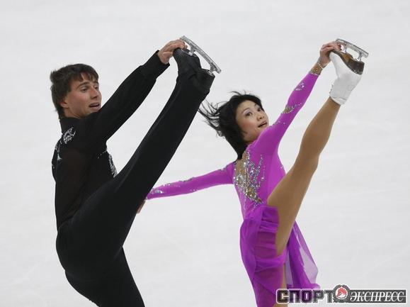 Юка Кавагути и Александр Смирнов.
