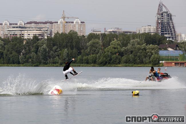 Соревнования прошли в Мякинино - это почти Москва.