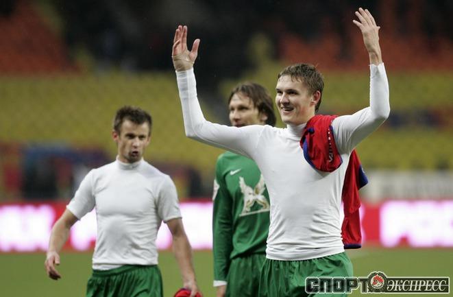 Сергей Семак, Алексей Попов и Александр Бухаров.