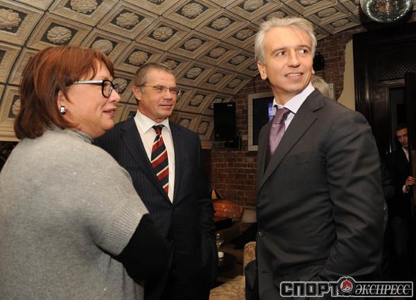 Ольга Смородская, Александр Медведев и Александр Дюков .