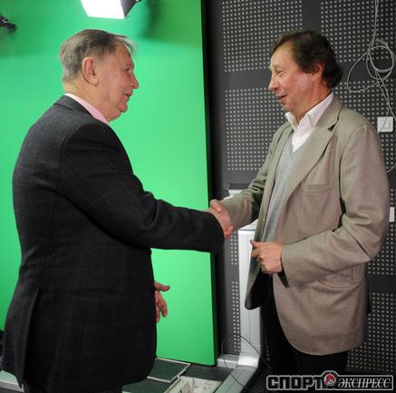 Виктор Тихонов и Юрий Семин.