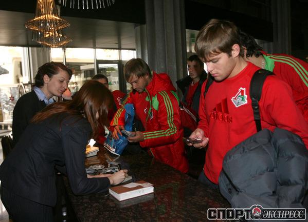 Дмитрий Сычев и Руслан Камболов.