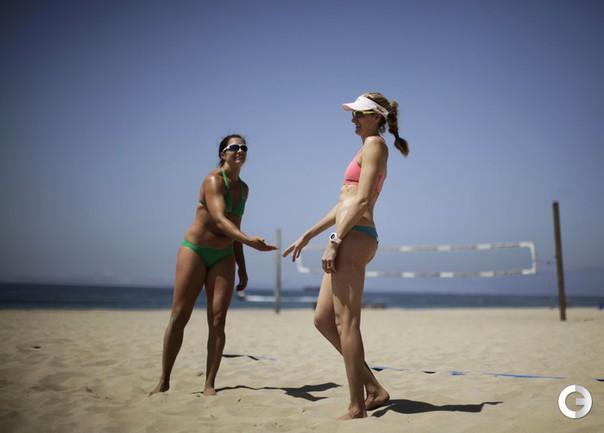 Пляжная подготовка к Олимпиаде.