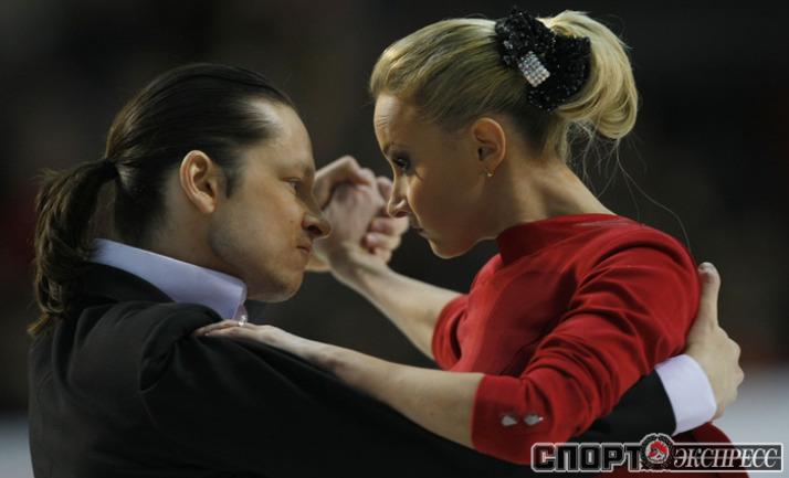 Оксана Домнина и Максим Шабалин.