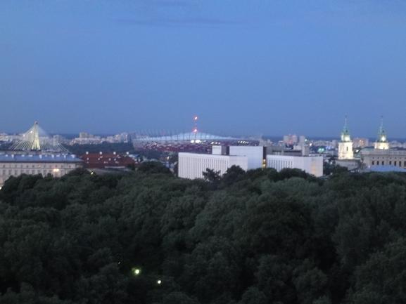 ВАРШАВА: ПОСЛЕДНИЕ ПРИГОТОВЛЕНИЯ К EURO-2012