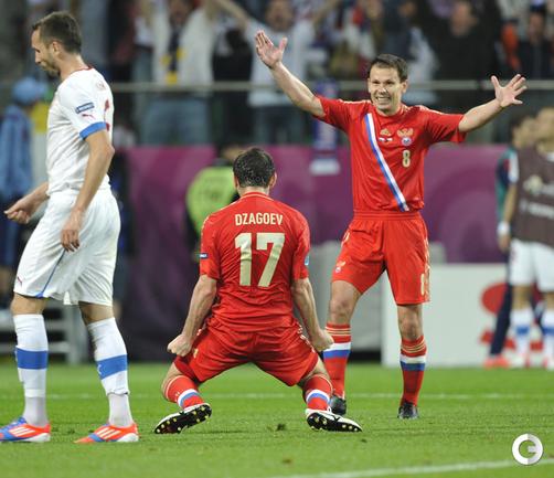 РОССИЯ ГРОМИТ ЧЕХОВ НА EURO-2012