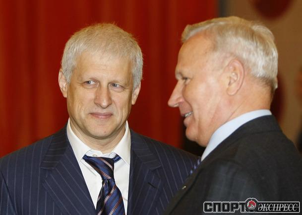 Сергей Фурсенко и Вячеслав Колосков.