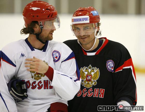 Виталий Атюшов и Сергей Федоров.