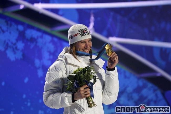Анастасия КУЗЬМИНА (Словакия). Биатлон. Спринт. Фото Reuters