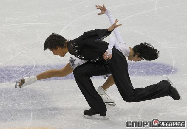 Юко Кавагути и Александр Смирнов.