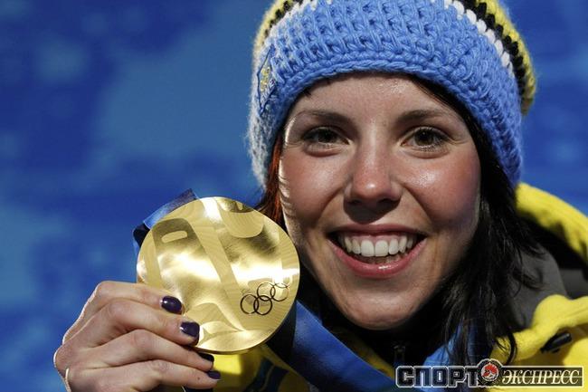 Шарлотта КАЛЛА (Швеция). Лыжи. 10 км. Фото Reuters