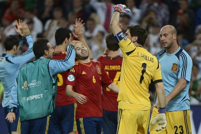 ИСПАНИЯ В ФИНАЛЕ EURO2012