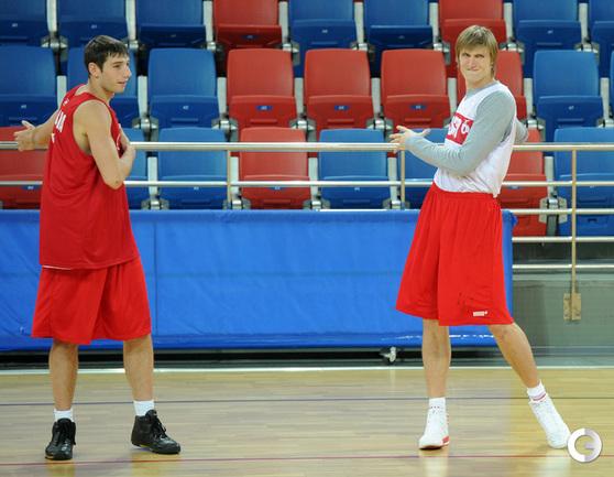 Никита Баринов и Андрей Кириленко.