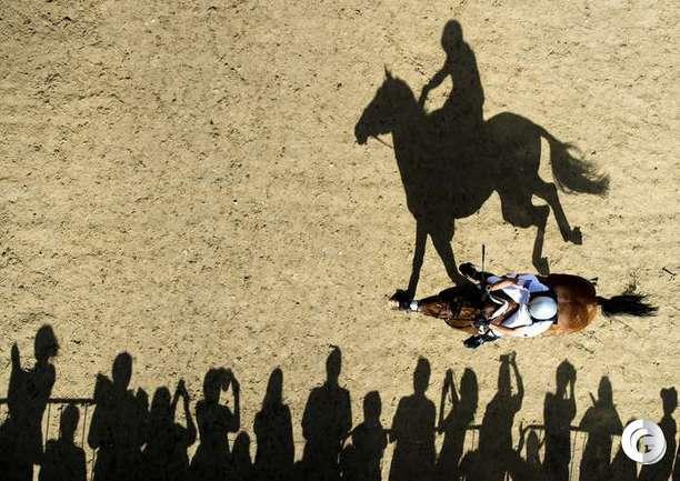 Конный спорт на Олимпиаде.