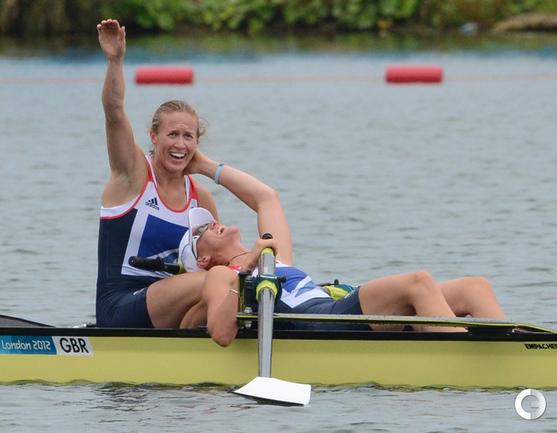 Хозяева выиграли первое золото Олимпиады. Фото AFP