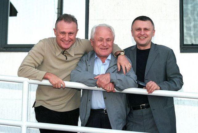 Григорий СУРКИС (слева) с отцом Михаилом Давидовичем и братом Игорем. Фото - Александр ЗАДИРАКА Фото «СЭ»