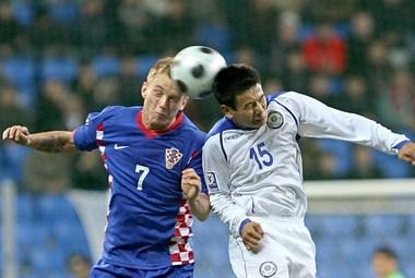 Сборная Хорватии так и не смогла выйти в финальную часть ЧМ-2010. Фото AFP Фото «СЭ»