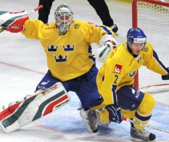 Вступив в КХЛ, АИК может стать для сборной Швеции базовым клубом. Фото AFP Фото «СЭ»