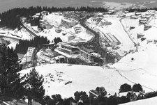 1968 год. Вид на олимпийский Гренобль. Фото официального сайта Международного олимпийского комитета (www.olympic.org).