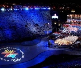 8 февраля 2002 года. Церемония открытия XIX зимних Олимпийских игр в Солт-Лейк-Сити. Фото официального сайта Международного олимпийского комитета (www. olympic.org). Фото «СЭ»