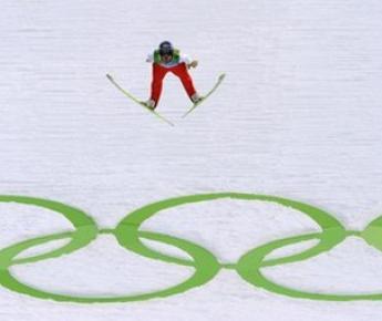 Канада. Уистлер. Стадион для прыгунов с трамплина. Фото AFP Фото «СЭ»
