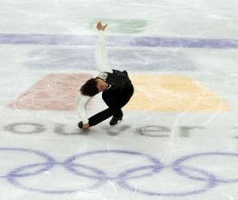 Ванкувер. Олимпиада-2010. Выступление Стефана ЛАМБЬЕЛЯ. Фото REUTERS Фото «СЭ»
