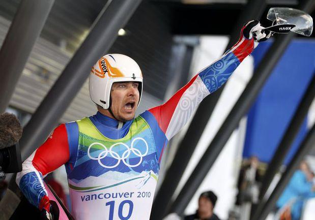 Альберт ДЕМЧЕНКО на Олимпиаде в Ванкувере. Фото REUTERS