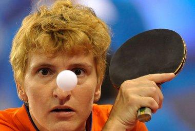 Выступающая за сборную Голландии Елена ТИМИНА. Фото AFP