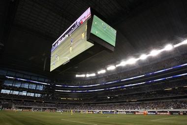 """Воскресенье. Арлингтон. Стадион """"Даллас Каубойз"""", на котором играли """"Челси"""" и """"Америка"""". Фото AFP Фото «СЭ»"""