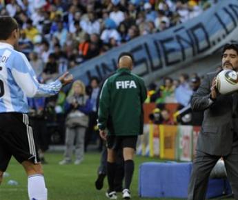 Суббота. Кейптаун. Аргентина - Германия - 0:4. Диего МАРАДОНА. Фото AFP