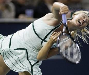 Мария ШАРАПОВА выступила в Лос-Анджелесе лучше остальных соотечественниц, дойдя до полуфинала. Фото AFP Фото «СЭ»