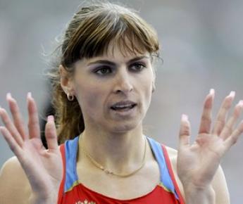 Бронзовый призер чемпионата мира-2009 в беге на 400 метров Антонина КРИВОШАПКА. Фото REUTERS Фото «СЭ»