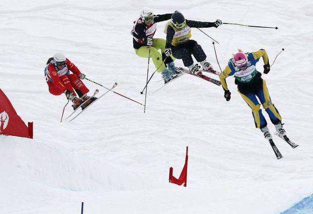 Пятница. Дир Вэлли. Ски-кросс. Фото REUTERS