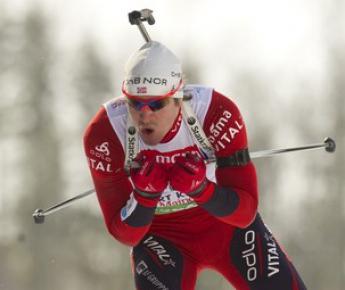 Норвежец Эмиль Хегле СВЕНДСЕН. Фото AFP