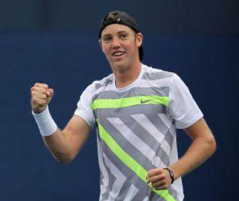 12 сентября 2010 года. Нью-Йорк. Чемпион юниорского US Open Джек Сок Фото AFP