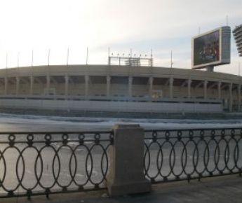 """Санкт-Петербург. Стадион """"Петровский"""". Фото Ирины ЗЫГАРЬ. Фото """"СЭ"""""""