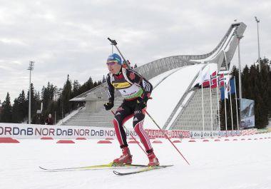 Сегодня. Холменколлен. Победитель спринтерской гонки Андреас БИРНБАХЕР. Фото REUTERS