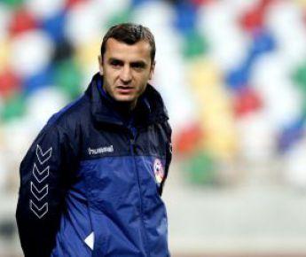 Главный тренер сборной Армении Вардан МИНАСЯН. Фото AFP