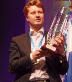 Владимир ПОТКИН во Франции добился крупнейшего для себя успеха - стал чемпионом Европы. Фото Михаила КОБАЛИЯ Фото «СЭ»