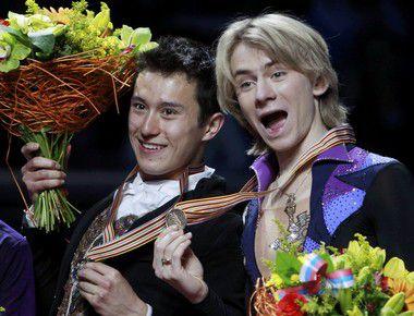Вчера. Москва. Патрик ЧАН и Артур ГАЧИНСКИЙ (справа). Фото REUTERS