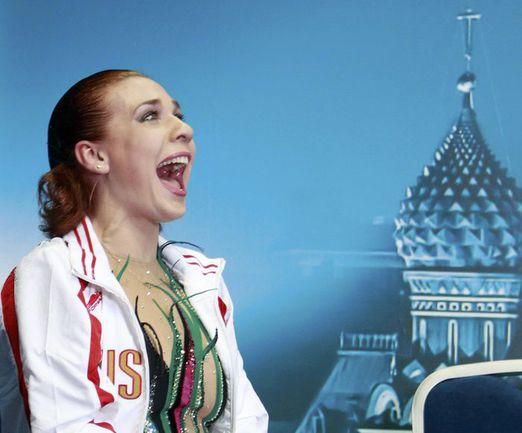 """Сегодня. Москва. """"Мегаспорт"""". Алена ЛЕОНОВА. Фото REUTERS"""