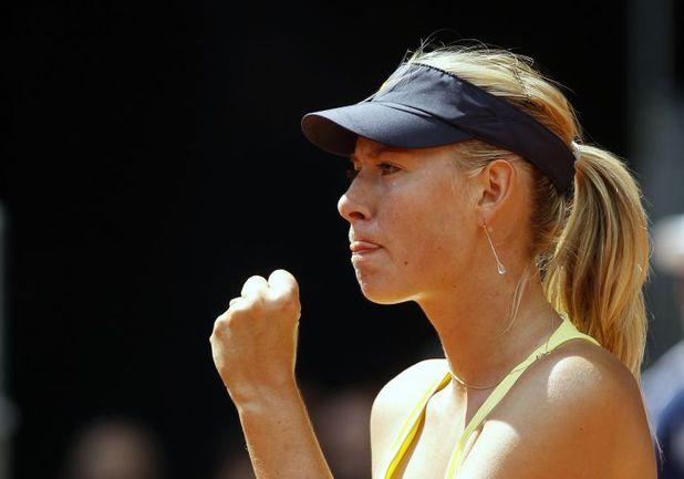 Понедельник. Мадрид. Мария ШАРАПОВА выходит в 1/8 финала супертурнира Mutua Madrid Open. Фото REUTERS