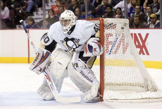 16 января 2010 года. Александр ПЕЧУРСКИЙ в своем единственном матче в НХЛ. Фото AFP