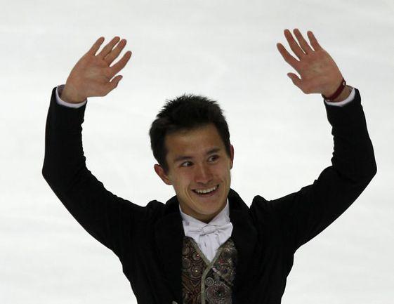 28 апреля. Москва. Чемпион мира Патрик ЧАН. Фото AFP